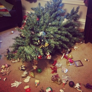 bad Christmas tree